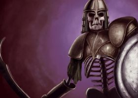 Skeleton Warrior by Wittman80