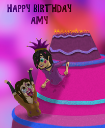 Happy 22 anniversary of your life Amy by Extermanet