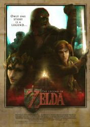 Zelda Movie Poster 2.5 by super-fergus