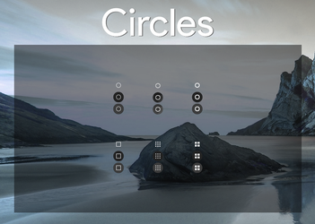 Circles - Start Orbs inspired by ChromeOS by bkp86