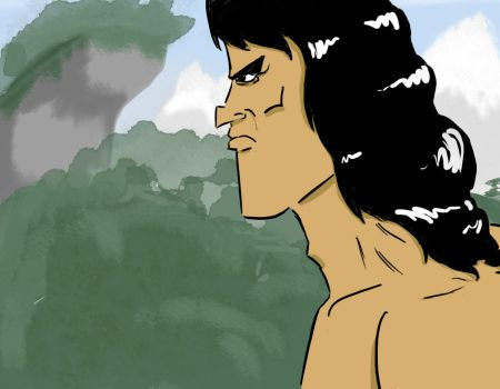 Conan the Cimmerian by Moncubus
