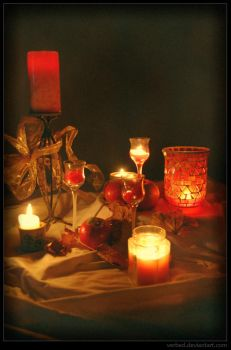 by candlelight by verbed