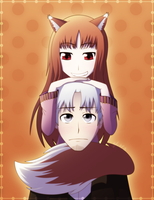 Spice and Wolf by northstar2x
