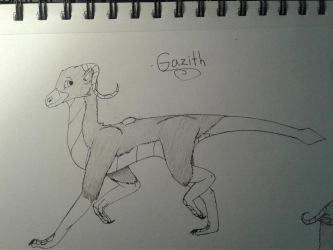 Gazith by HerothTheDragon