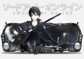 Sign Modelada Kirito - Pedido do Nathan by thiagoarantes20