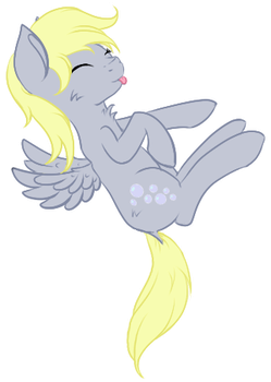 Chibi Derpy Hooves by Ayame-Shiro