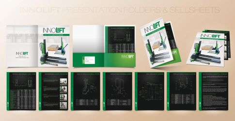 Innolift presentation folder + sellsheets by Stephen-Coelho