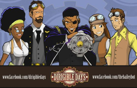 Dirigible Days 998 Graphic Novel!! by BaileyBot