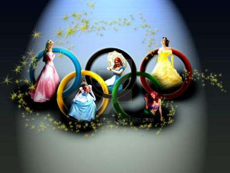 Disney Olympic Games by MathildeE