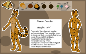 Imvula ref sheet : commission: by Rubyjessicalockheart