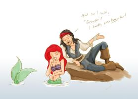 Jack and Ariel by WeaponXIX