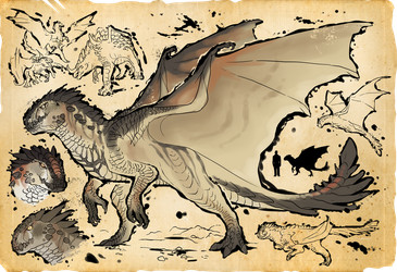 [Scourge Files] Coyote Dragon by Soulsplosion