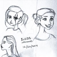 Britt315 practice sketches by littlewaysoul