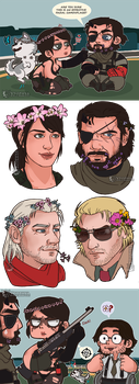 MGSV -Flowers- by vtophya