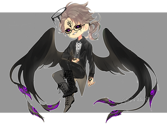 Adopt Auction: Evening Angel [CLOSED] by yhviia-adopts