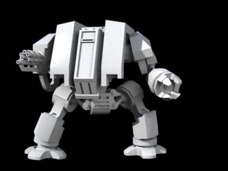 Dreadnought model rigged by TerronViking