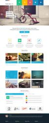 Metrolics - Business Metro Sytle PSD Template by DarkStaLkeRR
