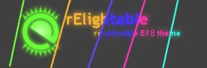 rElightable - recolorable E18 default theme by sb-E17