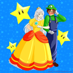 APH Luigi and Daisy Cosplay by The-C-E-O