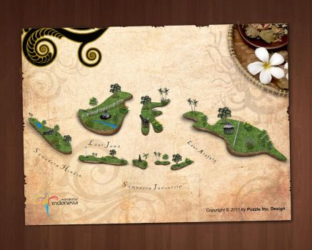 Wonderful Indonesia Fairy Land Wallpaper by puzzleinc