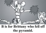 B is for Brittany by BloodyWilliam