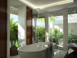 master bathroom 3 by outboxdesign