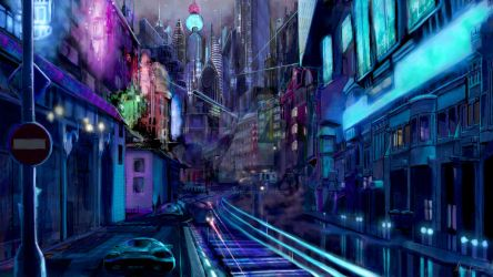City of the Future by mkmatsumoto