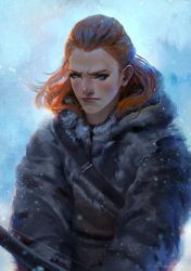 Game of Thrones - Ygritte (Fan art) by telaga