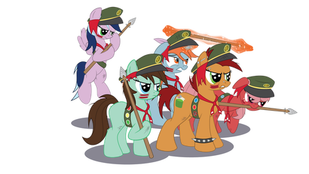 Filly Scouts V1 by JustABlankFlank