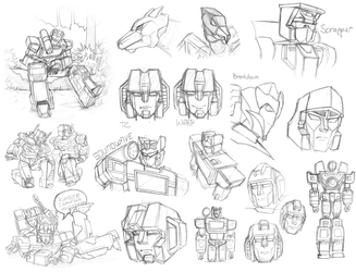 TF Canon scraps by downbox