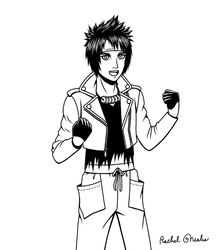 Sanada Yukimura Fashion by RachelNealesArt