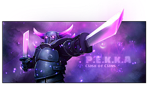 PEKKA signature (Clash of Clans) by thulung9