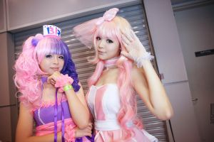 BR : Cotton Candy and Strawberry Milk by yingtze