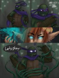 The Kappa and the Forest Spirit pg. 4 by Cicilicious