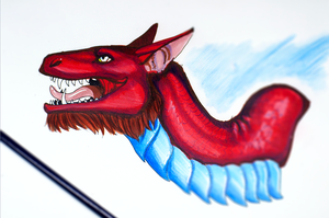 Red by Galidor-Dragon