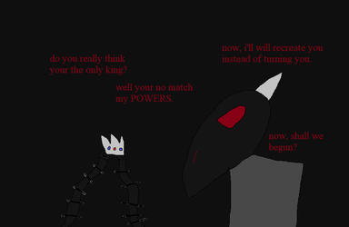 the shadow king's victory. by Dragontoy67