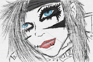 Andy Biersack by oddsockzx