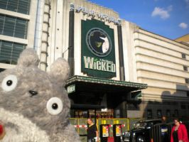 Totoro visits 'Wicked' by StudioGhibli123