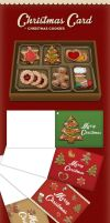 Christmas card free cookies by Matylly