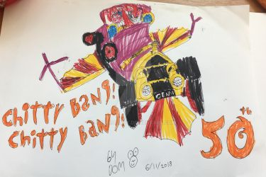 Chitty chitty Bang bang! 50th by artfrogboy