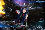 Accel World - Black Lotus cosplay by yukigodbless