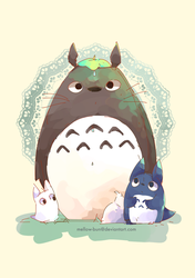 My Neighbour Totoro by Mellow-Bun