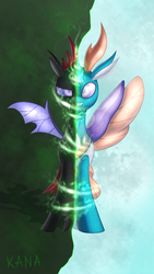 Change a Changeling [Pharynx MLP] by Kana-The-Drifter