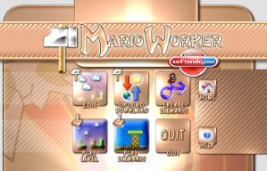 Mario Worker Title Screen Proj by softendo