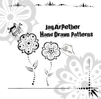 Hand Drawn Patterns by JagArPether
