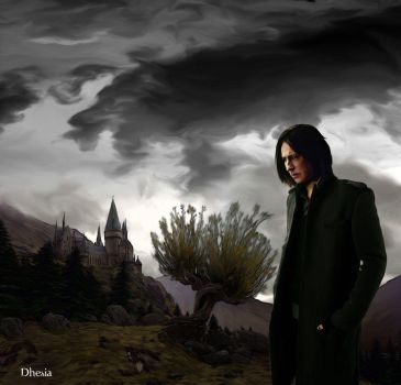 Severus Snape by Dhesia