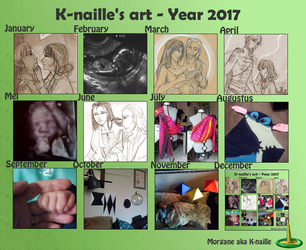 Year in art - 2017 by K-naille