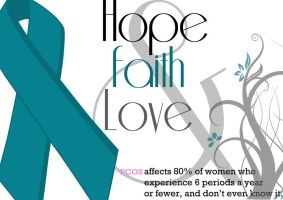 PCOS awareness by eljeaneo