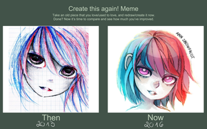 Before and After Meme by AnnRosalyn