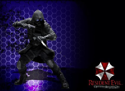 resident evil operation raccoon city- vector by foxguy823